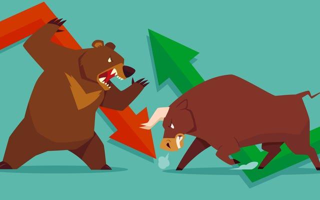 「クマ」と「ブル」市場の意味を覚える方法