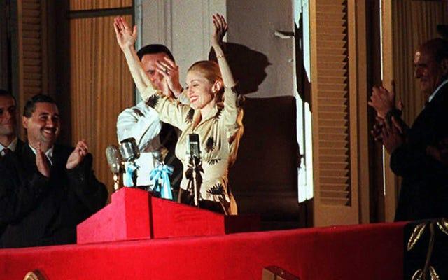 """Madonna travaille sur un biopic, dit Andrew Lloyd Webber """"n'était pas gentil"""" avec elle sur Evita"""