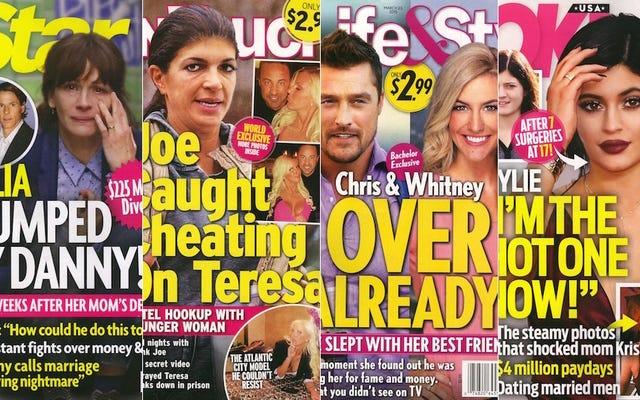今週のタブロイド紙:学士クリスは踊り、浮気嘘つきです