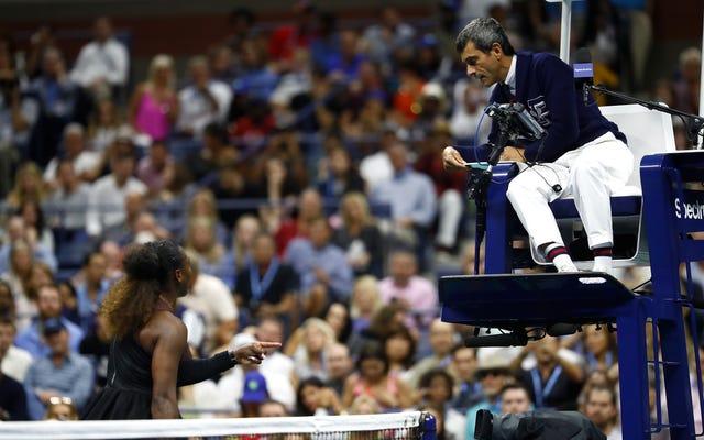 Sensitive Ref zmusza Serenę Williams do stopienia się i zrujnowania zwycięstwa Naomi Osaki w US Open