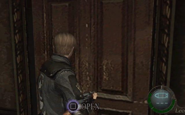 Ai đó đã giết gã cưa máy trong Resident Evil 4 Chỉ bằng một cánh cửa