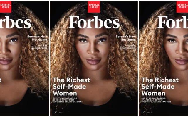 セリーナウィリアムズは、フォーブスの世界で最も裕福な自作女性のリストを自分自身に投資することによって作成した最初のアスリートです