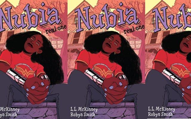 Nubia:Real Oneは、黒人少女のHerodomへの旅の心に訴える心のこもった描写です