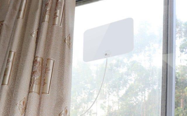 この24ドルの増幅されたHDTVアンテナでスーパーボウルの準備をしなさい