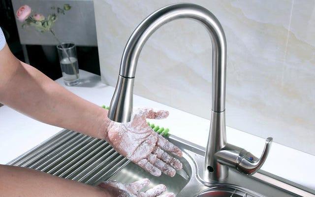 すべてに手を使うのをやめて、モーション作動式キッチン蛇口を最大45%オフ