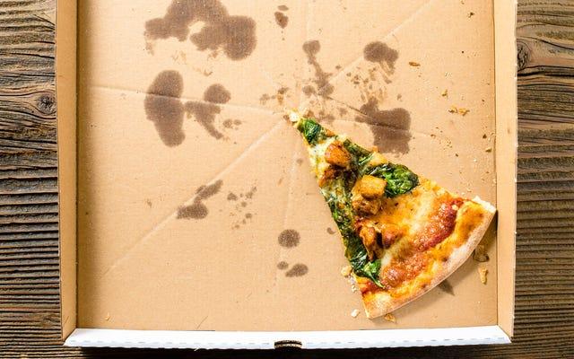 残り物のピザからたくさんの異なる食事を組み立てることができます