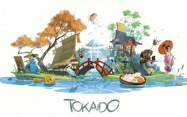 Tokaido es un hermoso juego de mesa