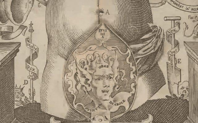 कोलंबिया जस्ट ने १६१० के दशक से एक बेस्टसेलिंग एनाटॉमी फ्लिपबुक का डिजिटलीकरण किया