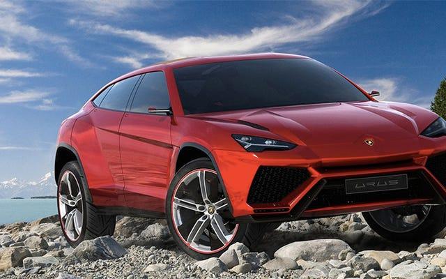 Le SUV Lamborghini Urus sera le premier hybride rechargeable de l'entreprise : rapport