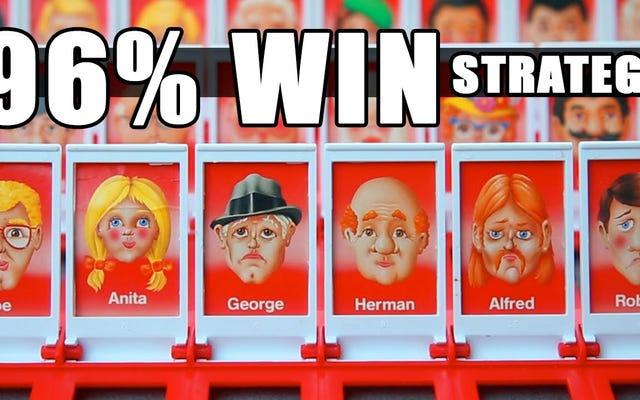 Casi siempre gana el juego Adivina quién con esta estrategia basada en matemáticas