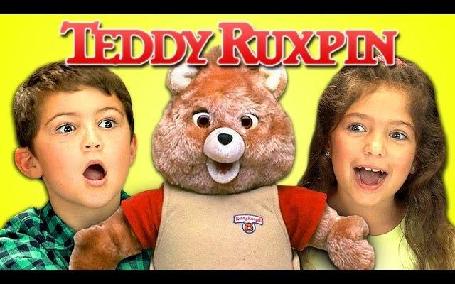 Anak-anak Bereaksi terhadap Teror Belaka Itulah Teddy Ruxpin