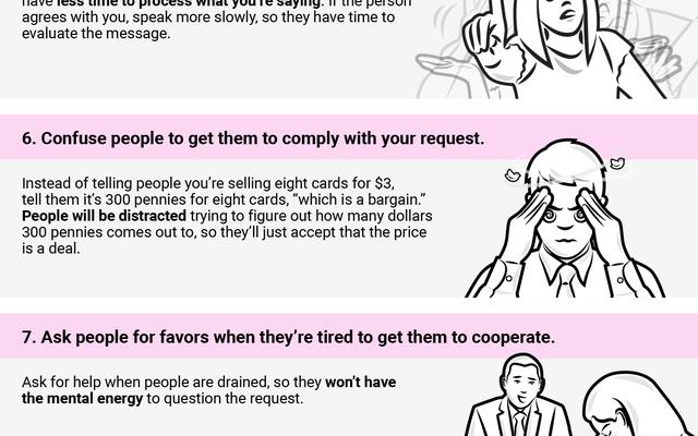 これらの11の巧妙な心理的トリックで人々にあなたがやりたいことをさせましょう