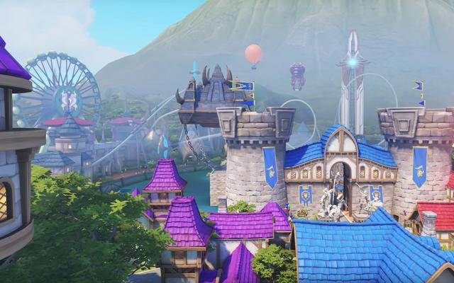 A pesar de su glamour, el mapa más reciente de Overwatch resulta familiar