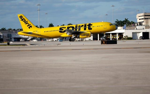 Spirit Airlines Berbat Bir Hafta Geçiriyor