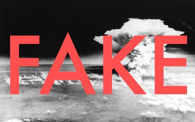 広島の象徴的な写真のキノコ雲は実際にはキノコ雲ではありません