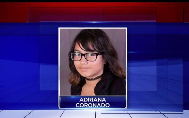 父親の遺体が現場で発見される前日に失踪した10代の警察捜査