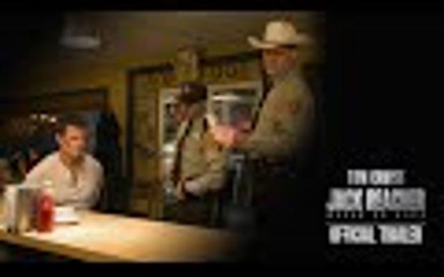 Том Круз действует вне закона в первом трейлере Jack Reacher: Never Go Back