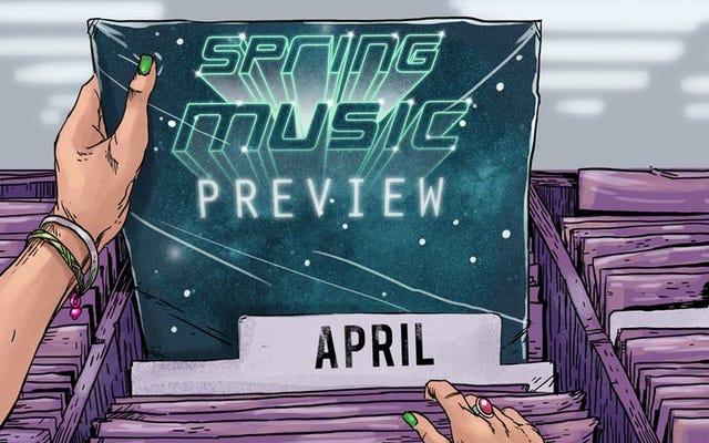 ドレイクの可能性がある曇り:4月にレコード店に来るものは次のとおりです