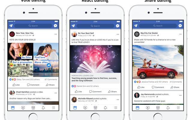 इस पोस्ट की तरह अगर आप फेसबुक को आखिरकार न्यूज फीड की लाइक-बाइटिंग की समस्या को हल करना चाहते हैं