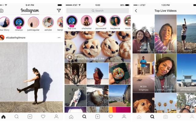 Instagram Stories позволяет делиться живым видео и отправлять личные сообщения с истечением срока действия.