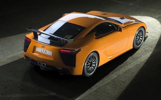 Proposé: La Lexus LFA est la Porsche 959 moderne
