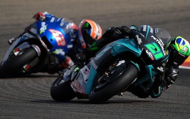 フランコ・モルビデリがテルエルグランプリで2度目のMotoGP優勝を果たし、チャンピオンシップファイトを強化