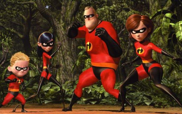 Brad Bird akhirnya menulis The Incredibles 2