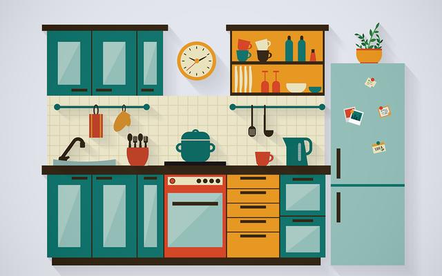 キッチンの乱雑さはあなたの食欲に影響を与えることができますか?