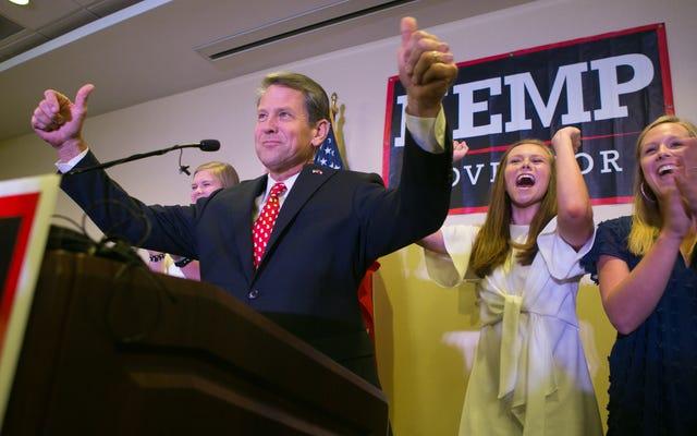 ブライアンケンプはジョージア州の選挙をリグする必要はありません...誰でもできるので