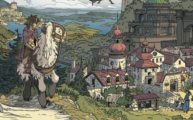対話がなくても、タロットと呼ばれる土地は読者を素晴らしいファンタジーの世界に連れて行きます