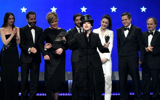 批評家チョイスアワードは、ローマを今年の最高の映画として選びます