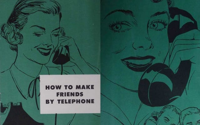 Questo strano manuale degli anni '50 insegnava alle persone a parlare al telefono con buone maniere