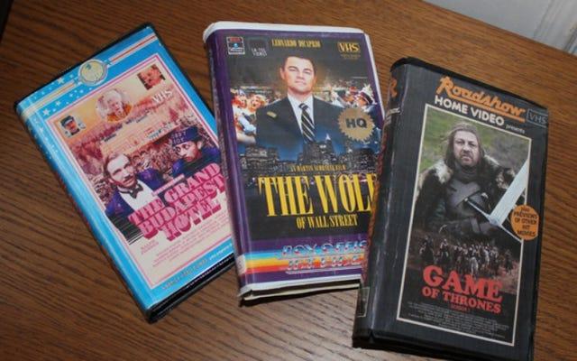 Какой-то чувак создал обложки на VHS для современных фильмов и сериалов