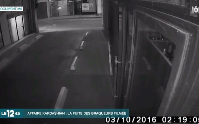 キム・カーダシアンの強盗容疑者の表面の最初のセキュリティ映像