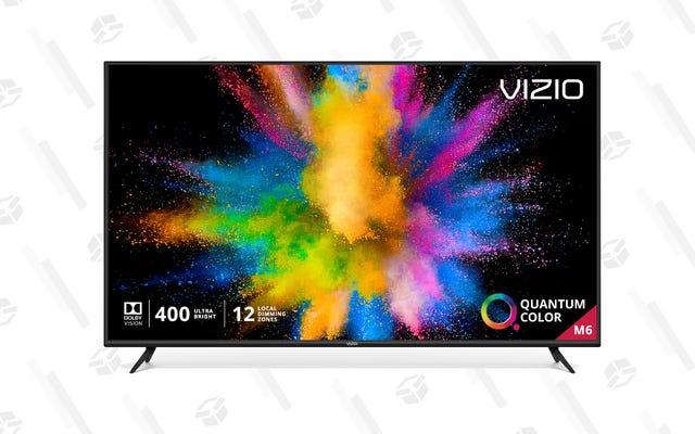 """このVizio65 """"スマートテレビは500ドルでお買い得です"""