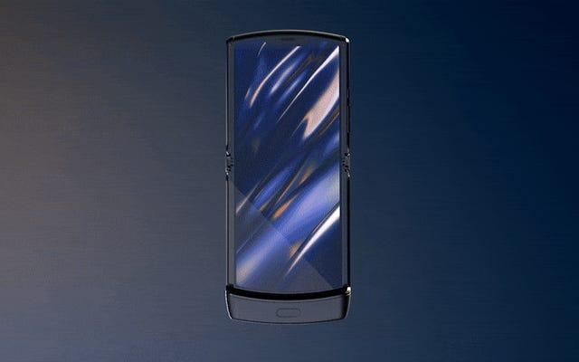 Motorolaは、新しいRazrの折りたたみ式スクリーンに塊や突起があるのは正常であると警告しています