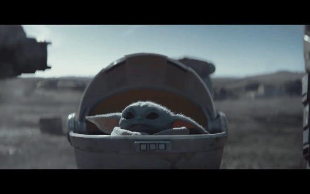 GIF-y Baby Yoda wracają do sieci, a Giphy z jakiegoś powodu przeprosiła Disneya
