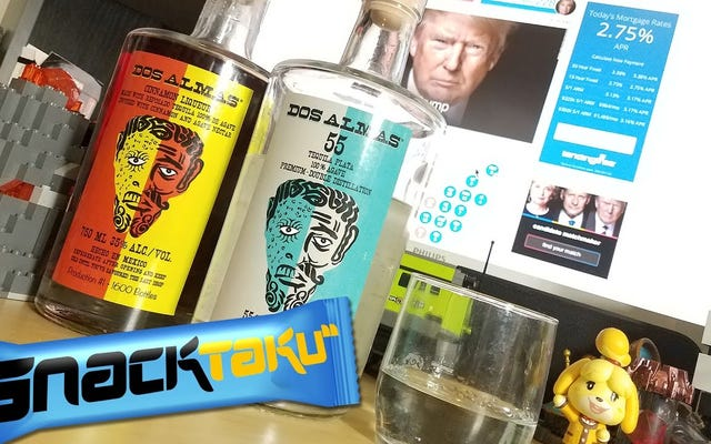 К черту, Snacktaku проводит ночь после выборов с Dos Almas Tequila