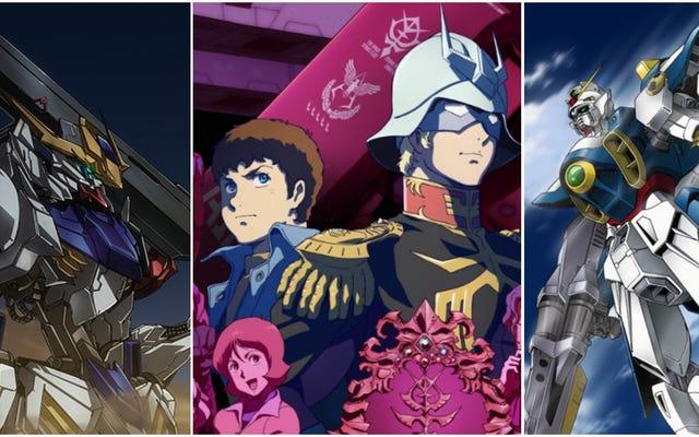 Guide du débutant sur 40 ans de robots, de rivaux et de pacifisme de science-fiction de Mobile Suit Gundam