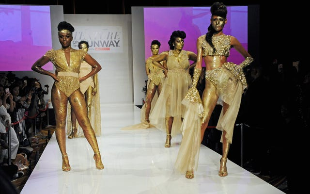 NaturallyCurly's 'Texture on the Runway' Laid My Edges