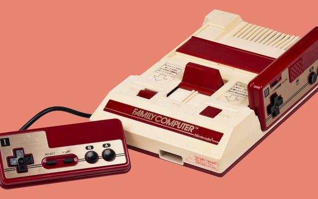 Aujourd'hui, la Famicom fête ses 33 ans, le précurseur de la NES arrivée en Amérique latine dans une version piratée