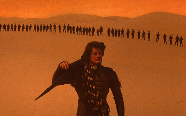 Der neue Dünenfilm wird von dem Mann geschrieben, der Forrest Gump geschrieben hat