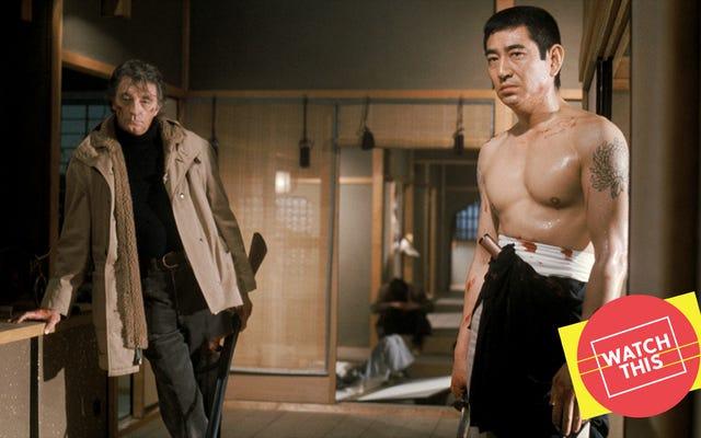 Due famosi sceneggiatori hanno prestato i loro talenti al crudo thriller degli anni '70 The Yakuza