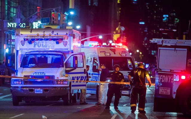 マンハッタンの爆発は国際テロに関連しているとは信じられていません
