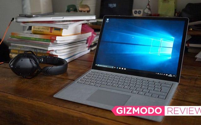 Microsoft Surface Laptopをテストしました:カーペットに対して何も持っていない場合に最適なタブレット