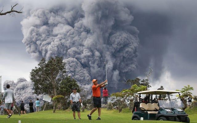 主要なゴルフイベントはどこでもキャンセルされていますが、ニューヨークのように大きな打撃を受けた州は、コースを開いたままにしておくのは安全だと考えています
