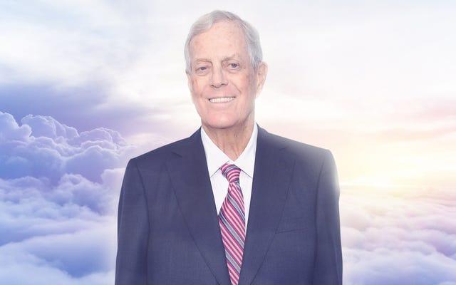 डेविड कोच ने ट्रिनिटी में एंटोनिन स्कैलिया ए सीट को पवित्र ट्रिनिटी में सुरक्षित करने के लिए अरबों डॉलर का भुगतान किया