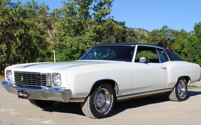 Certains scélérats ont volé l'impressionnant Chevrolet Monte Carlo 1972 de la House Of Muscle