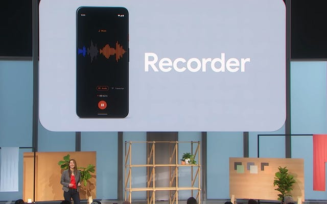Новое приложение для транскрипции в реальном времени Pixel 4 - это потрясающе - что использовать, если вы не можете его получить