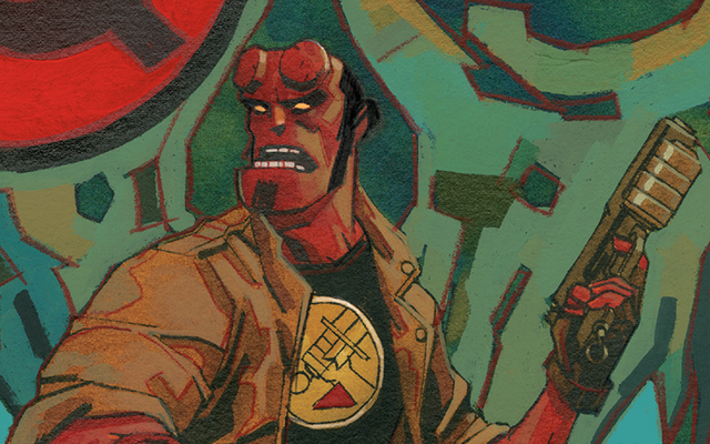A Look Inside Hellboy's Latest Historical Adventure di Hellboy and the BPRD: 1956